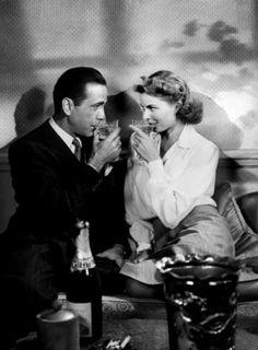 Humphrey Bogart & Ingrid Bergman - Casablanca
