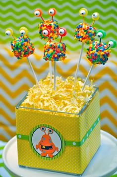 Monster Party: It's a Monster Birthday Bash. I have a monster-rific party to share today. Be sure to check out all our Monster Parties ideas and inspiration.