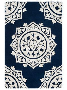 Bella Hand-Tufted Wool Rug by Safavieh at Gilt