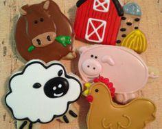 Farm Theme Cookies-1 Dozen