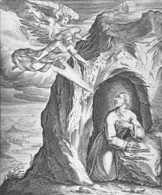 The life of St Ignatius by Peter Paul Rubens At Manresa Ignatius is inspired to write the Spiritual Exercises