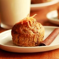 Eggless carrot spice muffins