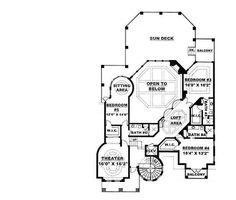 Plan 66022WE: Tuscan-Style Mansion