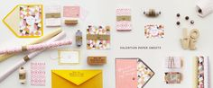 Valentine stationery | Mino Paper Sweets