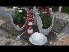 Eski Bir Havludan Beton Saksı Nasıl Yapılır? | Çevreci Bahçem