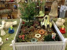 Have fun creating Fairy Gardens at the Angel Crossing In Long Beach angelcrossing.net