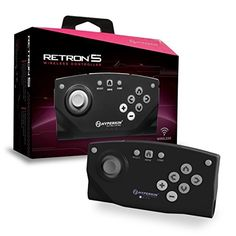 Hyperkin RetroN 5 Bluetooth Wireless Controller (Black)  #retro #retrogaming #console