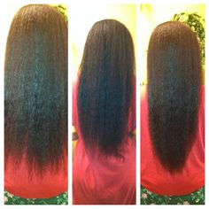 Relaxed Hair Health: Feature: The regimen that created Hip Length Relaxed Hair