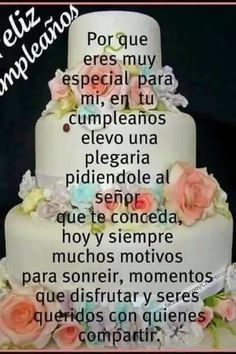 36 Ideas Birthday Wishes Quotes Bible Spanish Birthday Wishes, Happy Birthday Wishes Cards, Happy Birthday Celebration, Birthday Blessings, Birthday Wishes Quotes, Happy Birthday Images, Mexican Birthday, Happy Birthday Princess, Happy Birthday Flower
