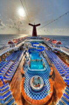 Carnival Cruise Lines, Carnival Paradise by Michael Ver Sprill, via Flickr