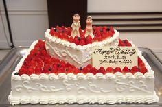 スクエア型ウェディングケーキ 2段 ケーキトッパー - Google 検索