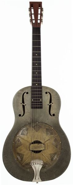 Musical Instruments:Resonator Guitars, 1930 National Duolian Silver Resonator Guitar, #C3290.... Image #1