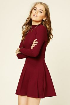 Nordstrom's Anniversary Sale is a collection of the best items for fall, marked The 79 Best Items You Need From Nordstrom's EPIC Sale (red dress outfit casual fall) Mode Outfits, Dress Outfits, Fall Outfits, Casual Outfits, Fashion Dresses, Casual Red Dresses, Casual Wear, Casual Clothes, Fashion Clothes