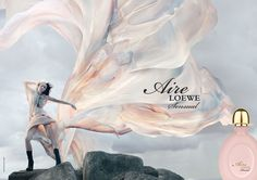 Loewe Aire Sensual Perfume Ad