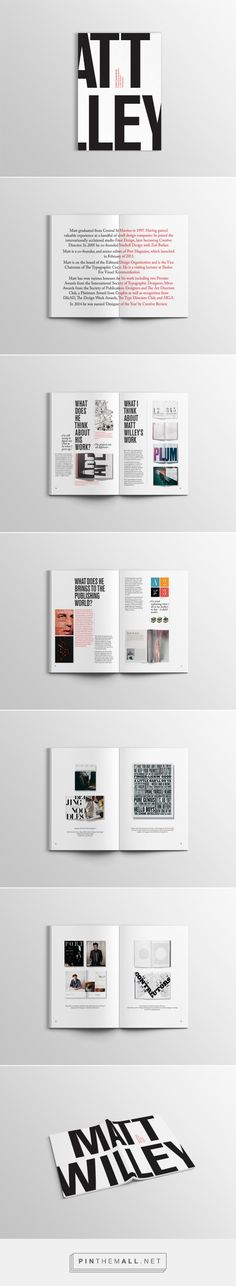 Monographic on Behance