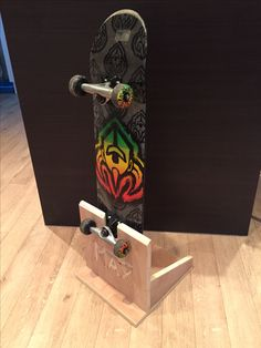 Wunderbar Personalised Skateboard Holder Skateboard Rack Skateboard Stand