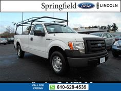 2011 Ford F-150 XL 46k miles $15,980 46055 miles 610-628-4539 Transmission: Automatic  #Ford #F-150 #used #cars #SpringfieldFord #Springfield #PA #tapcars