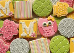 Quilted Owl Cookies HR | Flickr - Photo Sharing!