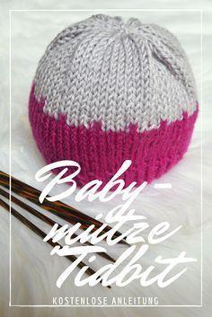 Kostenlose Strickanleitung für eine einfache Babymütze