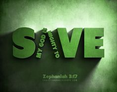 "God is among you, a warrior who saves. He will rejoice over you with gladness. He will bring you quietness with His love. He will delight in you with shouts of joy"" -Zephaniah 3-17    Read more: http://www.knowing-jesus.com/zephaniah-3-17"