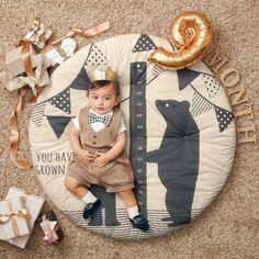 フォトジェニックな寝相アートが楽しめるベビー用円形マルチマット【ベビー布団・寝具】 通販のベルメゾンネット Baby Crib Sets, Baby Cribs, Baby Doll Bed, Baby Dolls, Nautical Baby Nursery, Little King, Baby Sewing Projects, Diy Wedding Decorations, Diy Pillows