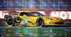 Chevrolet Corvette C6R GTE Pro Le Mans 24 2012