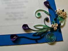Custom Wedding Gift / Framed & Quilled Wedding by Quillique, $89.99