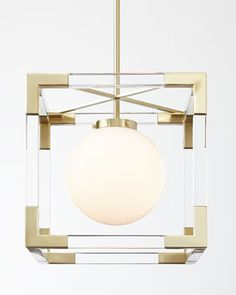 Jacques Two-Light Pendant by Jonathan Adler at Neiman Marcus.