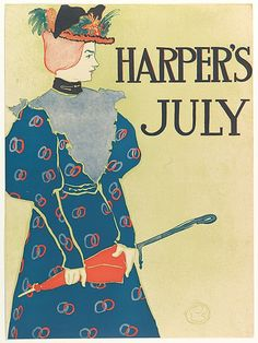 Edward Penfield (American, Brooklyn, New York 1866–1925 Beacon, New York). Harper and Brothers, Publishers. Harper's: July, 1896. The Metropolitan Museum of Art, New York. Leonard A. Lauder Collection of American Posters, Gift of Leonard A. Lauder, 1984 (1984.1202.90)
