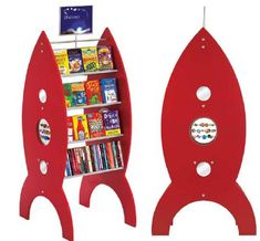 Rocket Pod book shelf