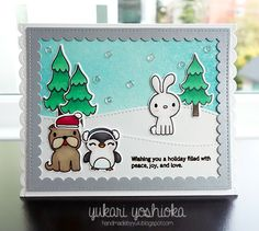 """Winter Wishes by Handmade by Yuki 