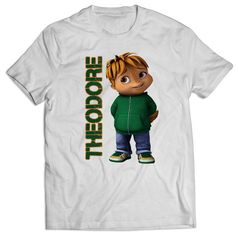 Alvin and the Chipmunks Theodore 3d Character T Shirts Mens T Shirt