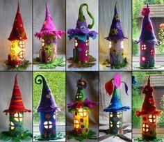 Construisez une jolie maison de fée pour noël :) • Quebec echantillons gratuits