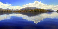 Tim Wilson - NZ landscaper painter, my favorite! Lake Wanaka, Landscape Paintings, Oil Paintings, Landscapes, New Zealand Landscape, New Zealand Art, Nz Art, Geography, Watercolor Art