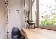 by lassen kubus Bowl, Vitra DSW Chair