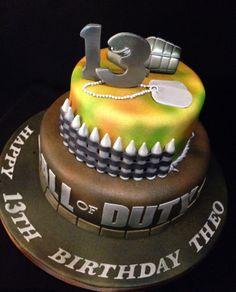COD - Call of Duty Cake