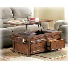 Darby Home Co Mathis Coffee Table With Lift Top U0026 Reviews | Wayfair