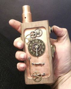Box Mod Steampunk Style Dual Parellel 18650 Sub Ohm to 0 2 | eBay