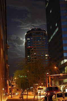Full Moon - Phoenix, Arizona #GeorgeTupak