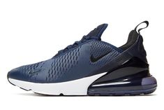 3652f7ad2cf6 The Nike Air Max 270 Navy And Black Is A JD Sports Exclusive • KicksOnFire.