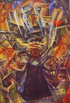 Materia di Umberto Boccioni