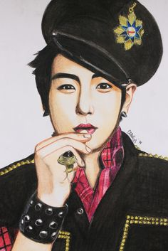 My fan art of TOP of (bigbang) #TOP #TABI #BIGBANG #CHOISEUNGHYUN #SEUNGHYUN