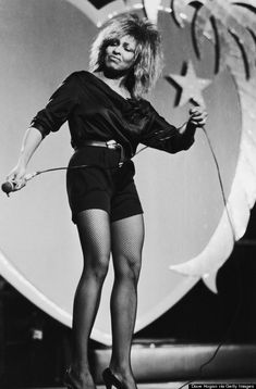 The incomparable Tina Turner - I'm pretty sure she's over 60 in this photograph.