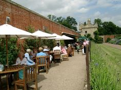 The coffee shop at Floors Castle has a beautiful outdoor terrace for sunny days.