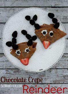Chocolate Crepe Reindeer recipe