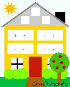 Craftiments: Δωρεάν Εκτυπώσιμη Γεγονός Family House Φύλλο εργασίας