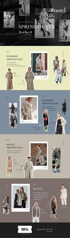 Website Design Layout, Web Layout, Layout Design, Spring Web, Event Landing Page, Fashion Web Design, Lookbook Layout, Wireframe Design, Email Design Inspiration
