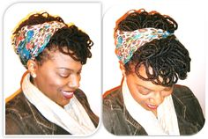 Loove it, I'm going to need my locs to hurry up and grow so I can do this style!