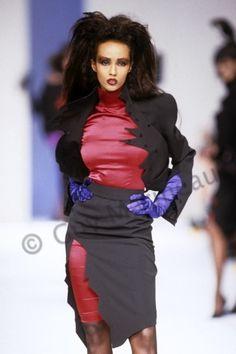 career as a fashion photographer. Retro Fashion, High Fashion, Fashion Beauty, Fashion Show, Thierry Mugler, Bowie, Ysl, Supermodel Iman, Yves Saint Laurent