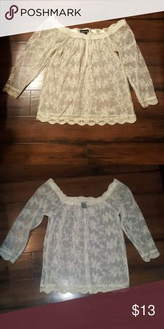 NWOT XS Wetseal Top 55% Cotton 45% Nylon Wet Seal Tops Blouses